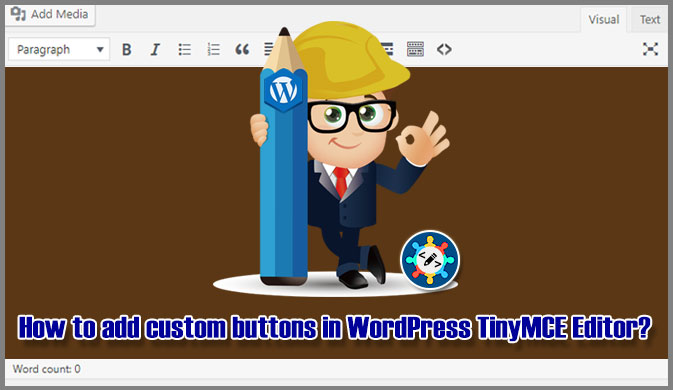 How to add custom buttons in WordPress TinyMCE Editor?